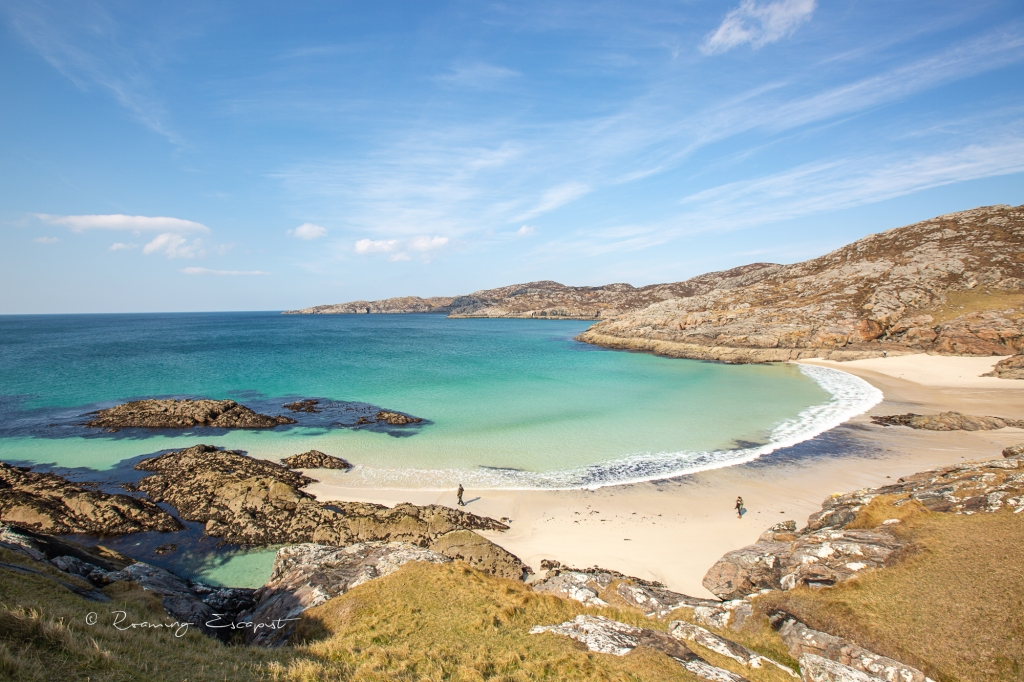 ACHMELVICH BEACH the most beautiful beach in Scotland